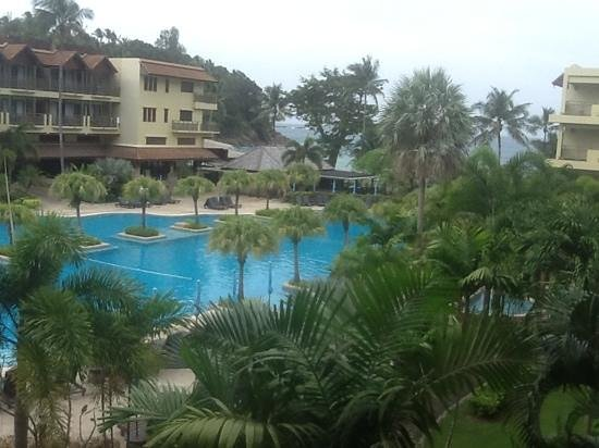 Phuket Marriott Resort & Spa, Merlin Beach: our view from our room!