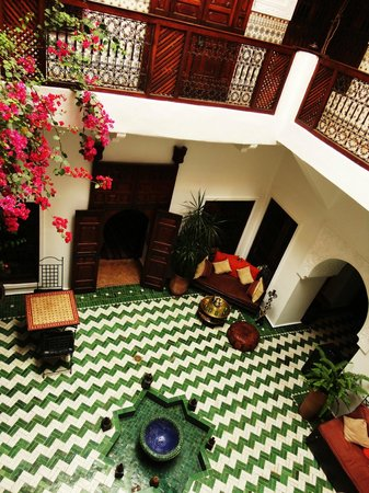 Dar Bennani: The lobby/entrance area of the Riad