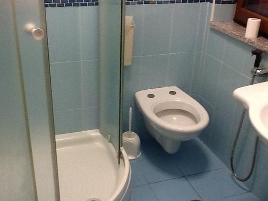 Hotel De Rosa: bagno