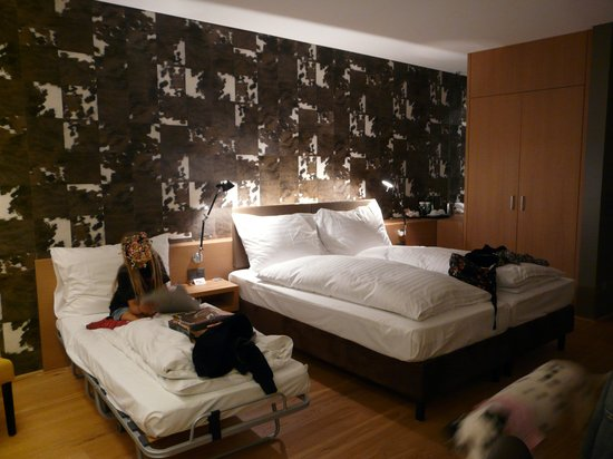 Holiday Inn Schindellegi - Zurichsee: la chambre