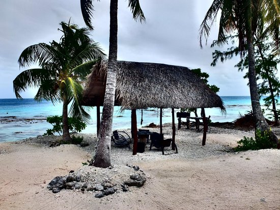 Fakarava, Polinesia Francesa: comodissimo berceau