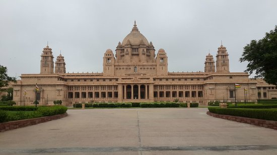 Umaid Bhawan Palace Jodhpur: Palace Entry view