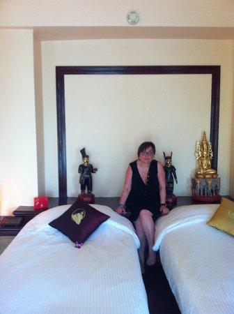 Jamahkiri Resort & Spa: habitacion piso superior pavillion