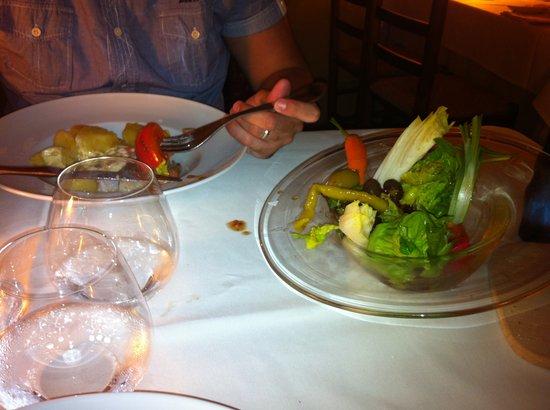 Cal Ros: ensalada