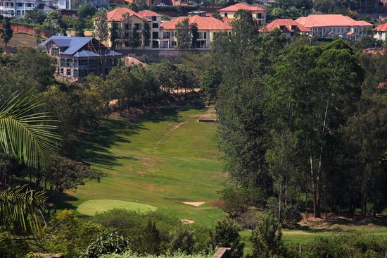 Golf Hills Residence: Golf course from balcony