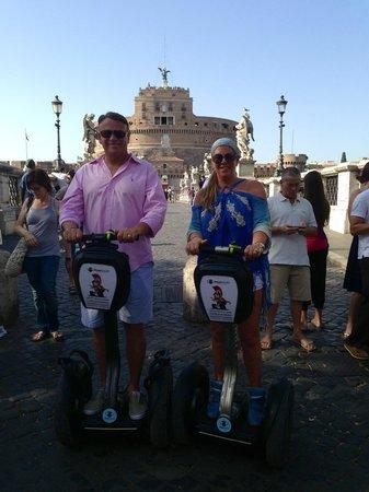 Segway Rome Tours: Beats walking in 100 degrees
