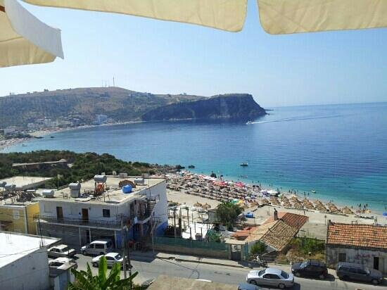 Ionian View Hotel: the view from the terrace