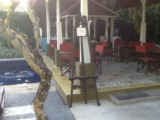 Nyima Budget Inn: salle des petits dej