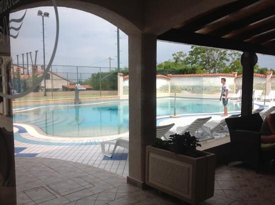 Hotel Villa Letan: pool area