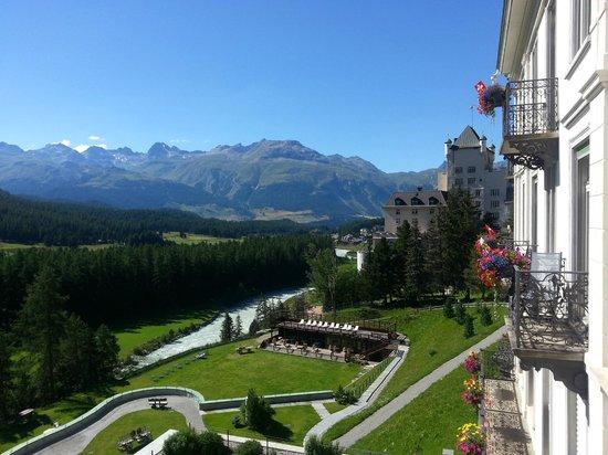 Grand Hotel Kronenhof : Vue depuis la chambre 409