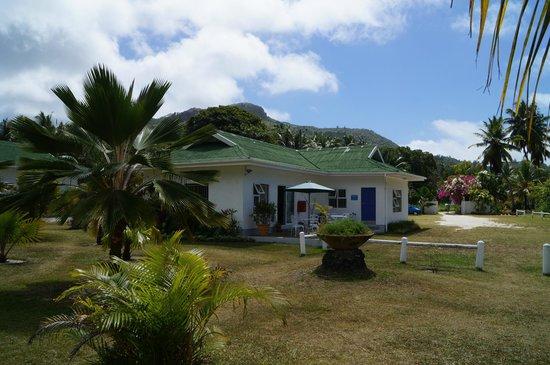 Chalets d'Anse Forbans: Verwaltungsgebäude