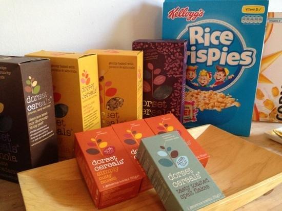 The Lilac Door : the varieties of cereals
