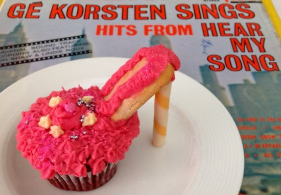 Kitsch Cafe: High Heal Cup Cake