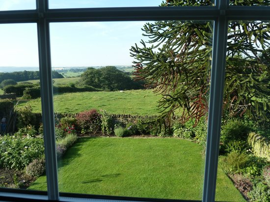 Cowclose Farm: View from bedroom window