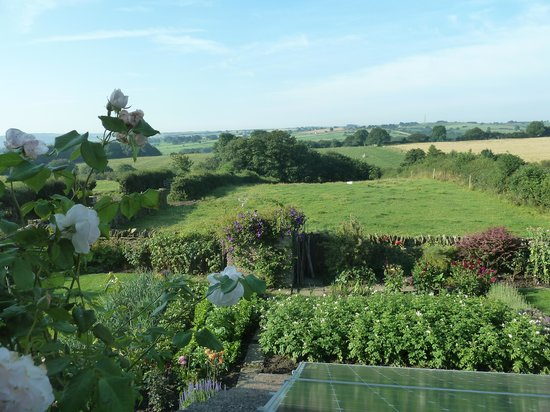 Cowclose Farm: View from back