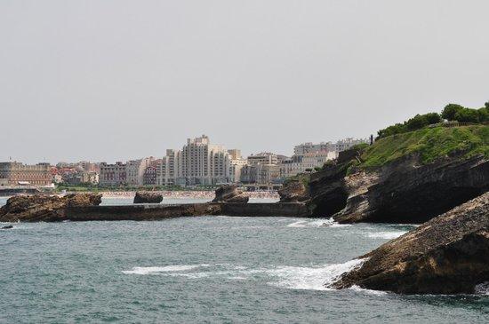 Côte des Basques: biarritz
