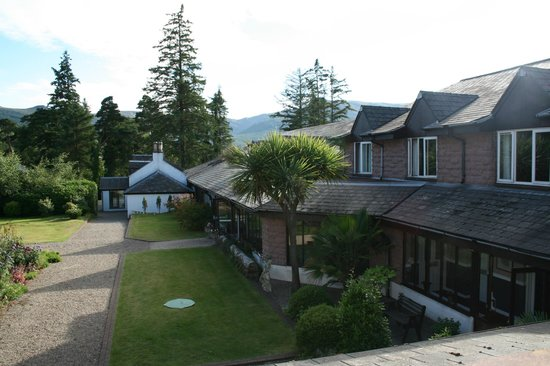 Auchrannie House Hotel: A view from our room.