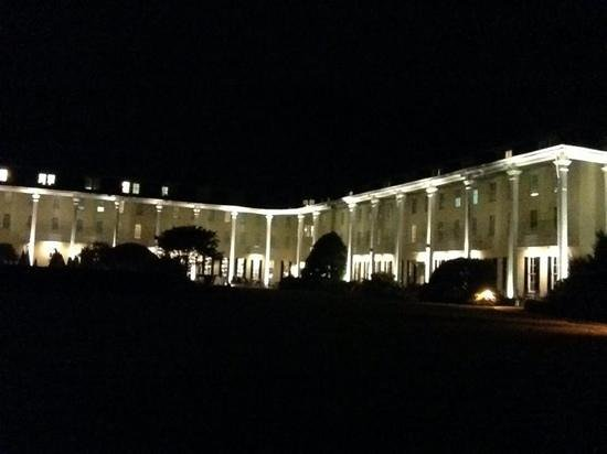 Night view of Congress Hall