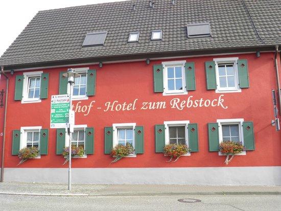 Gasthof-Hotel Zum Rebstock : Façade cote rue