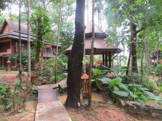 Khaolak Merlin Resort: The grounds