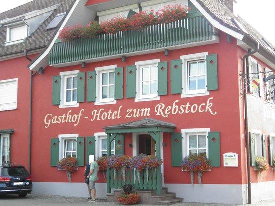 Gasthof-Hotel Zum Rebstock : Entrée coté rue