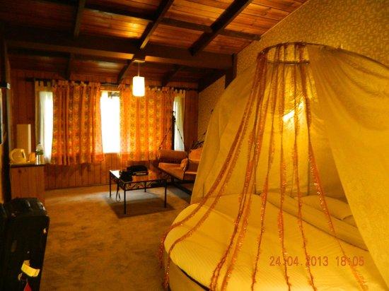 Honeymoon Inn Manali: The uniquely designed bed