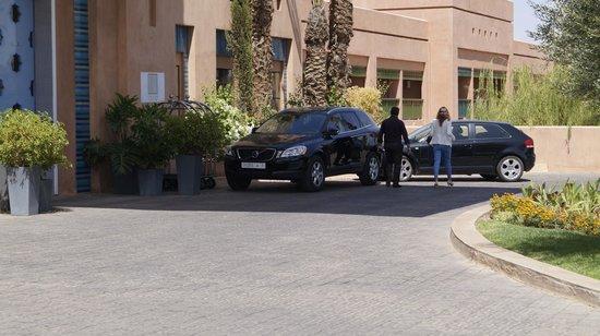 Hotel Du Golf: Eingang