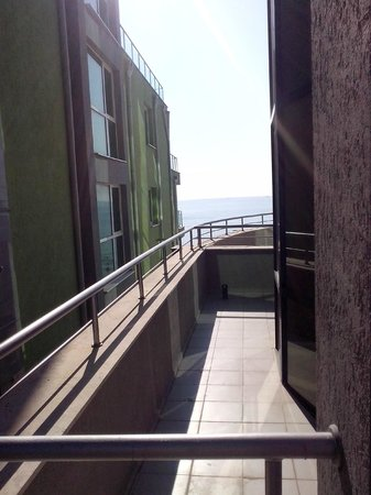 MPM Hotel Arsena: view from the balcony 1
