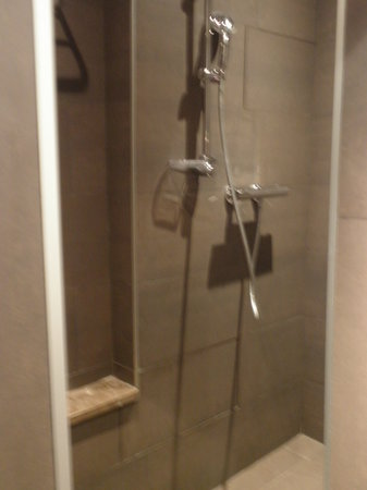 Hotel Concortel: Our shower