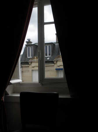 Hotel Concortel: The view from the window