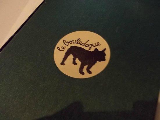 Le Bouledogue Restaurant Cafe & Brasserie: Carte in tema.