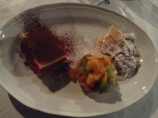 Osteria del Vicolo Fatato: il tris di dolci!