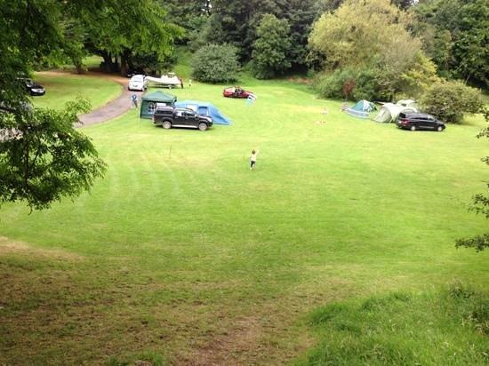 Westport House Camping & Caravan Park: westport house campsite