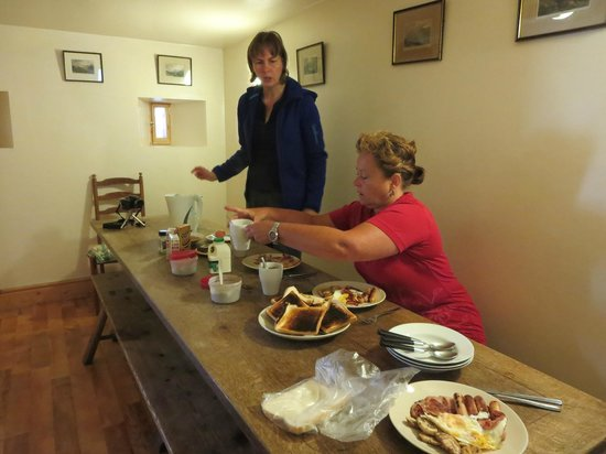Bluebell Camping Barn : Eetkamer
