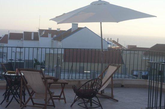 Amar Hostel & Suites: terrace ocean view