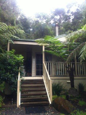 Myers Creek Cascades: Front door
