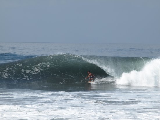 Nirmala Guest House: Good waves at the beach