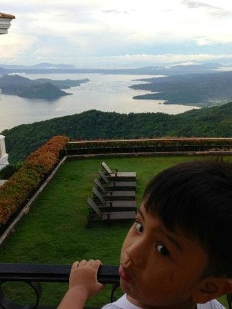 The Lake Hotel Tagaytay: view from our room balcony