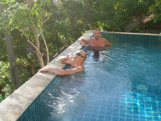 Anankhira Villas: having a private pool with stunning views was a highlight of the holiday
