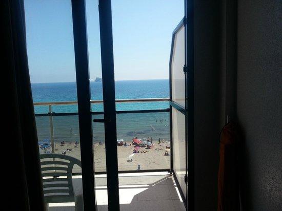 Hotel Marconi: Vistas desde la terraza de la habtación 404