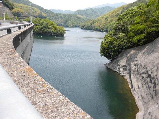 Ishitegawa Dam Lake