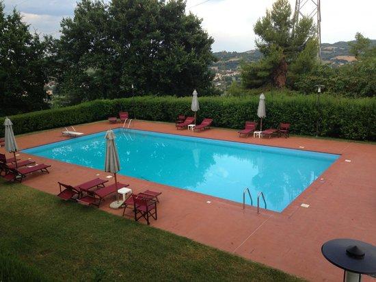 Villa Matarazzo : la piscina