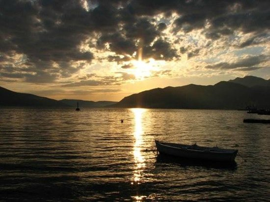 Apartments Bonazza - Tivat: View from our family house