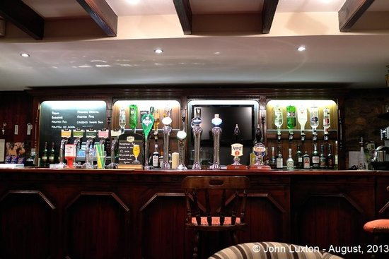The Harp at Letterston: One of the two bars