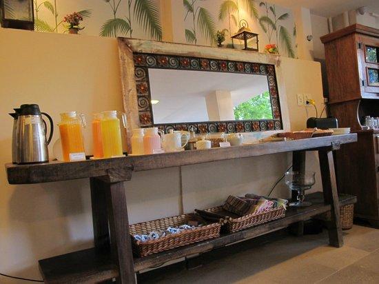 Quinta Azul Boutique Pousada: Good breakfast