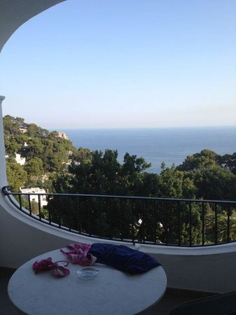 Mamela Hotel: Vista dalla camera