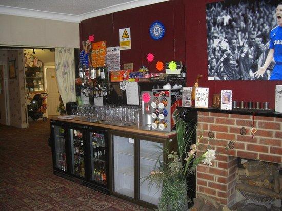 Sandown Manor: Well stocked honesty bar