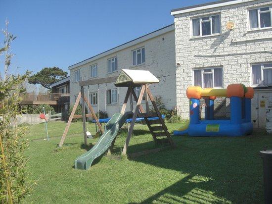 Sandown Manor: Outdoor play area