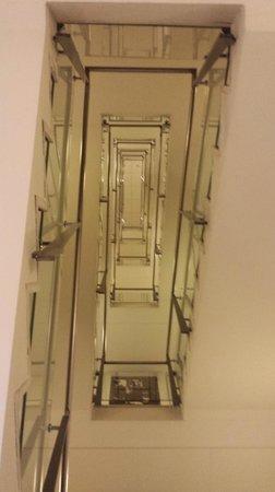 The Square Copenhagen : stairway
