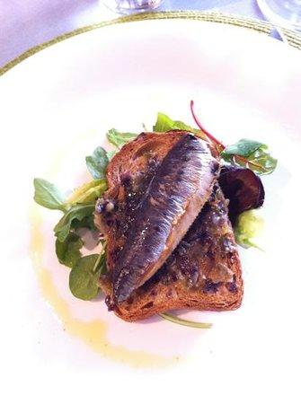 Terroirs : sardine et andouille